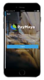 Paymaya App Get Money Code Step 1