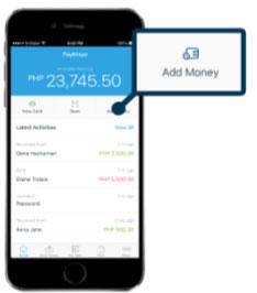 Paymaya App Get Money Code Step 2